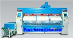 Professional ironer folder, stacker PSF-32x120 Powerline